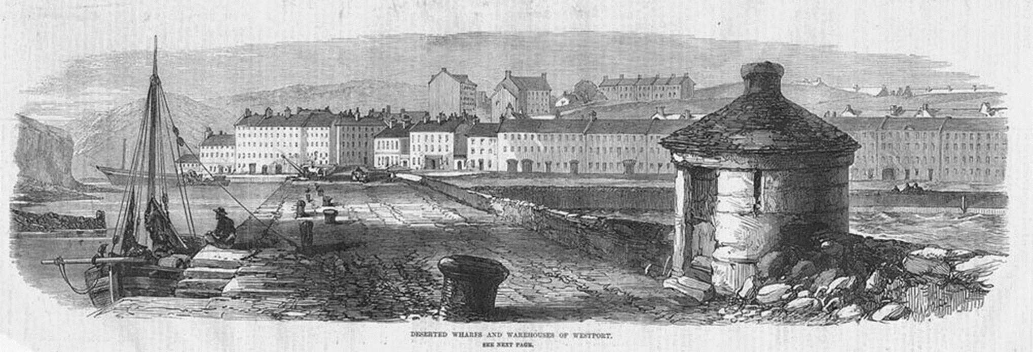 Westport Quay 1870